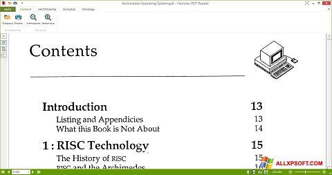 Skärmdump Hamster PDF Reader för Windows XP