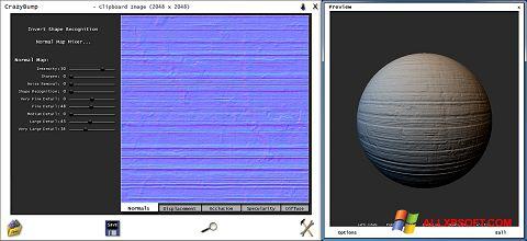 Skärmdump CrazyBump för Windows XP