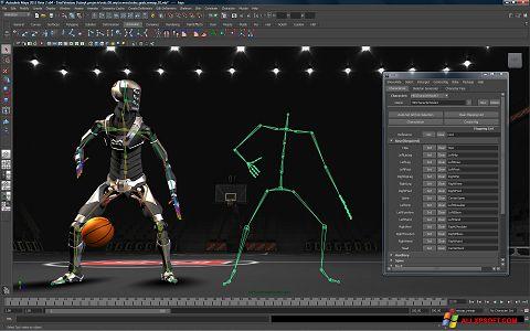 Skärmdump Autodesk Maya för Windows XP