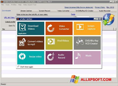 Skärmdump aTube Catcher för Windows XP