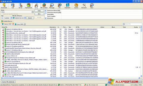 Skärmdump eMule för Windows XP